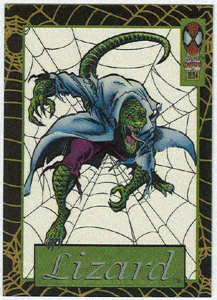 Spider-Man Amazing Cel #12 Lizard Chase Trading Card