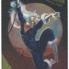 Spider-Man Fleer Golden Web #1 Black Cat Chromium Card