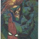 Spider-Man Fleer Golden Web #9 Vulture Chromium Card