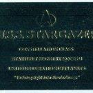Star Trek Phase 1 #R6 Gold Plaque Stargazer Chase Card