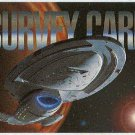 Star Trek Voyager Season 1 Series 1 Survey Card
