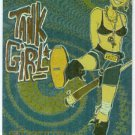 Tank Girl 1995 #1 Magnachrome Embossed Foil Chase Card