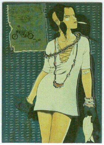 Tank Girl 1995 #4 Magnachrome Embossed Foil Chase Card