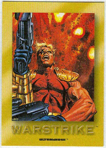 Ultraverse 1993 #R4 Rookie Warstrike Chase Trading Card