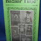 Bazaar Time Vol !V No.5 May 1984 crochet patterns