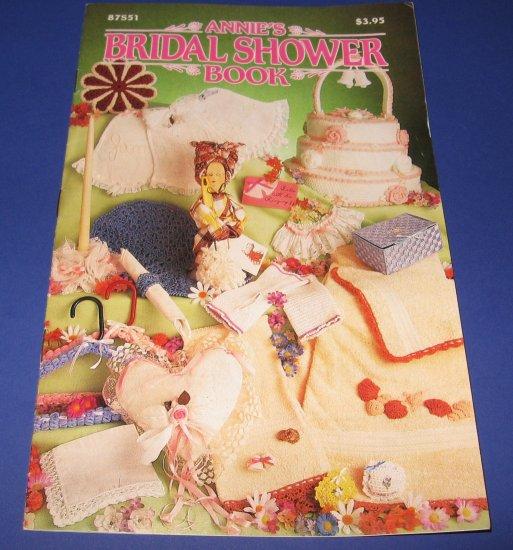 Annies Bridal Shower Book crochet leaflet 87S51