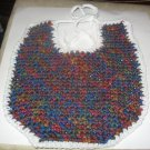 Variegated many colors Baby Bib
