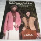 Leisure Arts Leaflet 142 Full Figure Fashion  to knit and crochet