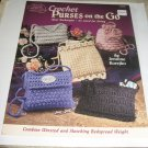 American School of needlework Crochet Purses on the go by Jennine Korejko 1305