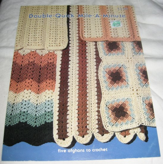 Crochet Stitches Mile A Minute : Double quick mile a minute afghan crochet patterns