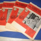 Workbasket magazines lot of 4 1954