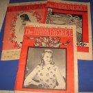 Workbasket magazines lot of 3 1963