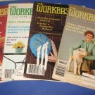 Workbasket magazines lot of 4 1980 1982