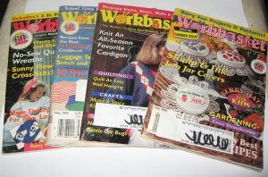 Workbasket magazines 4 issues  1995