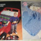 Baby Blankets Car Afghan Annies Attic Crochet pattern