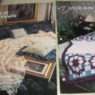 Rose of Sharon and Dutch Rose afghan Annies Attic Crochet pattern