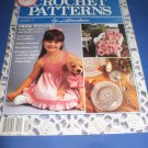 Crochet Patterns by Herrschners March April 1990  Vol 4 no 2