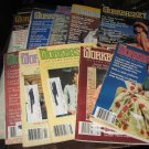 Workbasket magazines lot of 10,1984