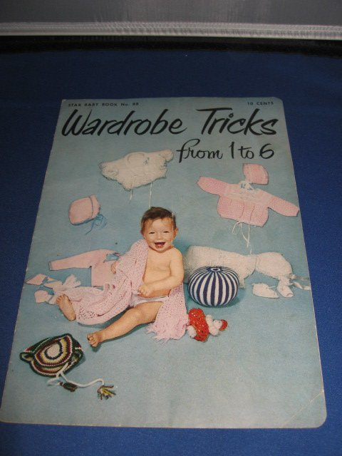 Wardrobe Tricks from 1 to 6 Star Baby Book no 88 crochet pattern