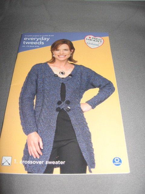 Everyday Tweeds knit and crochet pattern