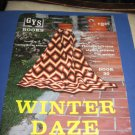 Winter Daze Crochet Pattern Booklet by GYS Books book 30