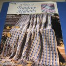 Leisure arts A year of teardrop afghans  by Melissa Leapman