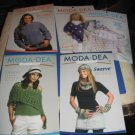 MODA DEA crochet booklets and leaflets