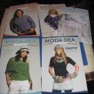 MODA DEA crochet booklets and leaflets
