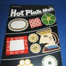 Hot Plate Mats Book Star Book no 70 crochet pattern