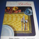 New Ideas in Doilies J & P Coats book 283 crochet pattern