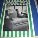 Smart Chair Sets J & P Coats book 161 crochet pattern