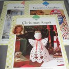 3 crochet patterns Grannys Daughter afghan Soft and sweet afghan Christmas angel