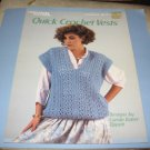 Leisure Arts 417 Quick Crochet Vests