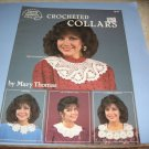 Leisure Arts 1047 Crocheted collars by Mary Thomas