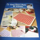 Crochenit Easy Place Mats and Trivets Annie's Attic 873217