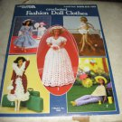 Leisure Arts 268 Crocheted Fashion Doll Clothes