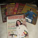 Workbasket magazines 6 issues  1977