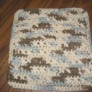Brown variegated Crochet Dish Cloth