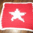 Crochet Star dish cloth 100% cotton