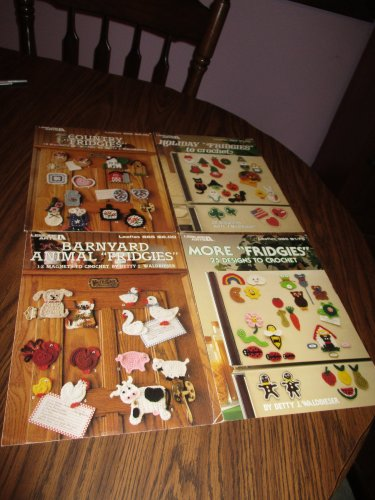 Leisure Arts Leaflets,lot of 4