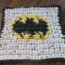 Crochet Batman dish cloth 100% cotton