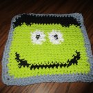 Crochet Halloween Monster dish cloth 100% cotton