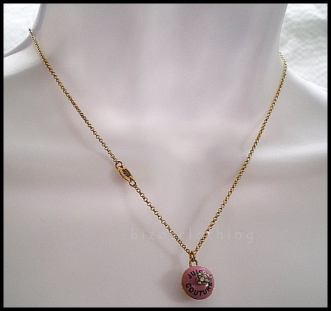 Rare Authentic Juicy Couture Cupcake Necklace