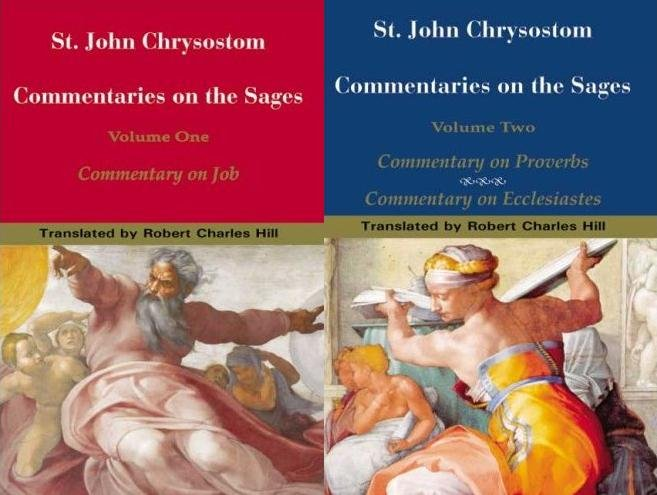 Commentary on the Sages (2 Volumes) - John Chrysostom