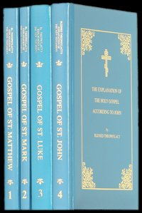 Blessed Theophylact Explanation of the New Testament (4 Volumes - The Gospels) hardcover