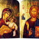 Christ and Theotokos Diptych