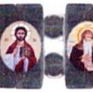 Coptic Orthodox Icon Bracelet (Hematite)