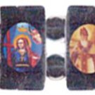 Armenian Orthodox Icon Bracelet (Hematite)