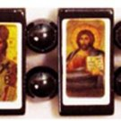 Types of Christ Icon Bracelet (Wood)