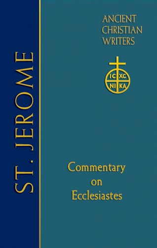 Commentary on Ecclesiastes - Jerome